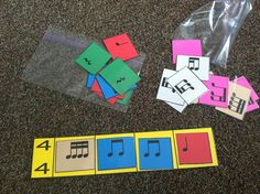 for dictation, assessment, composition! - Music a la Abbott: Beat Strips - manipulativesPerfect for dictation, assessment, composition! - Music a la Abbott: Beat Strips - manipulatives Music Education Lessons, Music Lessons, Guitar Lessons, Education Posters, Guitar Tips, Formation Continue, Middle School Music, Music Lesson Plans, Music Worksheets