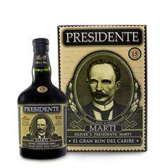 Presidente Marti est un rhum vieux de République Dominicaine.