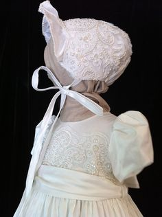 Angela West Christening gown Oriana V latest by angelawesthgowns