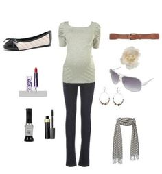Mom to be outfit