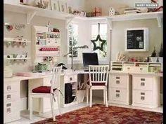 Small craft making room ideas