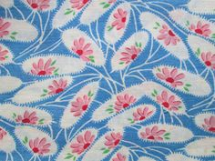 Vintage Cotton Feedsack Fabric Quilting by Theoldwhitecupboard