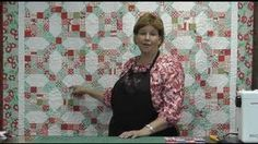 Katie's Quilt - Make an Easy Quilt with Precut Fabric, via YouTube.