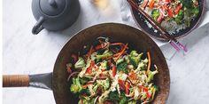 Stir No-Fry with Coconut Cauliflower Rice via @iquitsugar