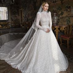 Vestidos Dolce Gabbana, Dolce & Gabbana, Lady Diana, Princess Diana Niece, Bridal Gowns, Wedding Gowns, Lace Wedding, Party Gowns, Black Tie Attire