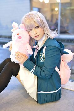 piiko(ぴぃこ) Chiaki Nanami Cosplay Photo - WorldCosplay