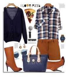 """""""Zaful.com: I Love Pizza"""" by hamaly ❤ liked on Polyvore featuring Emilio Pucci, Christian Dior, ArmourLite, Miu Miu and OXO"""