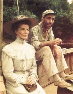 African Queen  Humphrey Bogart and the Great Kate in one movie.  Who could ask for anything more?