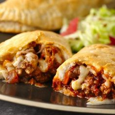 A tender, flaky Grands! biscuit wraps around your favorite taco fillings in an easy, flavor-packed hot sandwich.