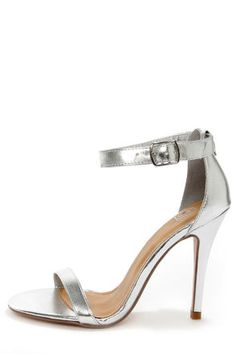 Zara 'Metallic High Heel Strappy Sandal' | Shoes | Pinterest ...
