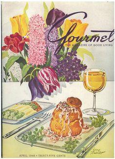 Gourmet Magazine, April 1948