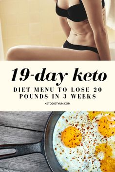Intermittent fasting   19-day keto diet menu and plan for weight loss.