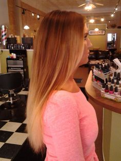 Ombre style-fun for summer!