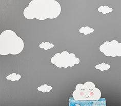 Cloud Wall Decals | Pottery Barn Kids