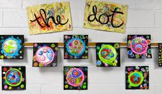 Cassie Stephens: In the Art Room: Dot Day Ideas!
