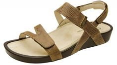 Aetrex Removable Footbed Sandals - Paraiso for heel spur