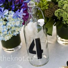cool table numbers!