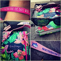 Lilly Pulitzler, Ray Bans, and Southern Tide! My new Lilly agenda!