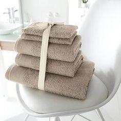 Lot de 1 drap de bain + 2 serviettes + 2 gants, 420g/m2 SCENARIO - Linge de bain adulte