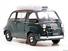 Fiat 600 multipla taxi 1956 1965