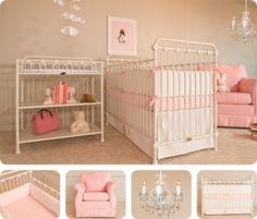 Simple and elegant. baby crib | designer nursery | luxury crib
