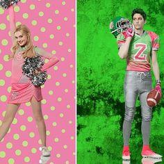 Addison and Zed. Disney Channel Movies, Disney Channel Original, Original Movie, Zombie Birthday, Zombie Party, Zombie Disney, Disney Love, Zombie Wallpaper, Cartoon Wallpaper