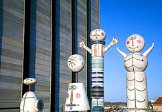 alexander girard's large wooden dolls at Expo 67 in montreal Expo 67 Montreal, Alexander Girard, Vacation Memories, World's Fair, Wooden Dolls, Breaking Bad, Sandro, Art Forms, Wind Chimes