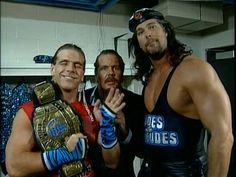 HBK & Big Daddy Cool Two Dudes with Attitudes interviewed by Michael PS Hayes