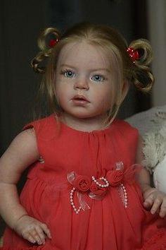 Isabella by Regina Swialkowski Reborn Toddler Girl Doll