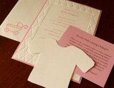 Homemade Baby Shower Invitations | Baby Shower Invitation Ideas Homemade - Infant Shower and Baby Shower ...