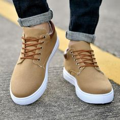 Merkmak Canvas Shoes Men Casual Shoes 2018 Spring Autumn Sneakers Lace Up Men Comfortable Shoes Big Size 47 Handmade Moccasins Outfit Accessories From Touchy Style Cute Casual Shoes, Casual Oxford Shoes, Men Casual, Casual Suit, Casual Blazer, Casual Winter, Casual Jeans, Casual Summer, Best Shoes For Men