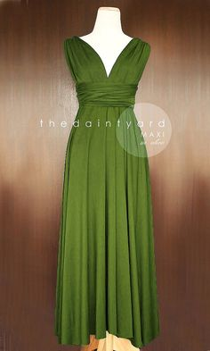 Hey, I found this really awesome Etsy listing at https://www.etsy.com/listing/189560783/maxi-olive-bridesmaid-convertible  @amberdae4