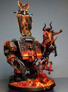 Daemons, Dreagnaught, Khorn, Legion Of The Damned