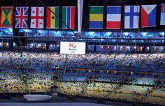 Veja fotos da cerimônia de abertura da Olimpíada do Rio - Foto: Reuters