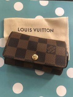 c16730b083a7 Louis Vuitton 6 Ring Key Holder in Damier Ebene