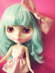 Miss Sally Rice. Blythe dolls are lovely.