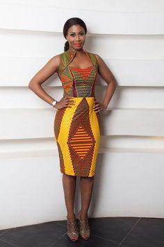 Africanprint ~African fashion, Ankara, kitenge, African women dresses, African p… African Fashion Ankara, Ghanaian Fashion, African Inspired Fashion, African Print Fashion, Africa Fashion, Fashion Prints, Men's Fashion, Nigerian Fashion, Fashion Styles