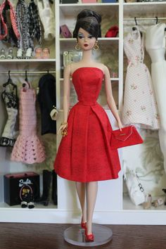 """""""Paint It Red"""" by Threads for Your Doll"""