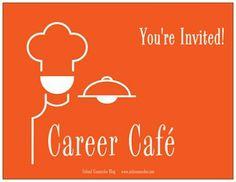 Career Café! Perfect idea for the Career Development ASCA Standard!
