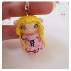 Chii chobits chibi phone pendent necklace charm by FairysLiveHere