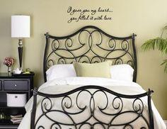 quote bedroom Ideas | Bedroom Walls Bedroom Pictures Bedroom Wall Decoration Ideas - bedroom ...