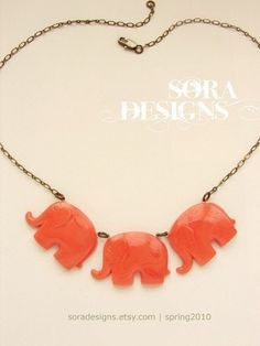 elephant neckpiece