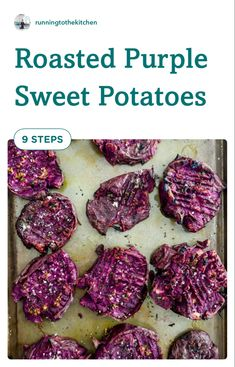 This purple sweet potato recipe uses Stokes sweet potatoes that are smashed, drizzled with melted butter and herbs then roasted until super crispy. Christmas Side Dishes, Thanksgiving Side Dishes, Quick Side Dishes, Side Dish Recipes, Best Appetizers, Appetizer Recipes, Purple Sweet Potatoes, Best Party Food, Good Food
