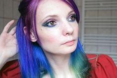 Tuto : makeup vegan de la mère noël ! www.darkrevette.com