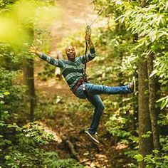 From Cloud 9 Living - Experience a day of adventure at Freedom Park climbing, leaping and ziplining your way literally through the treetops! Zipline Adventure, Go Ride, Park Trails, Local Parks, Experience Gifts, Man Birthday, Birthday Ideas, Summer Bucket Lists, Cloud 9