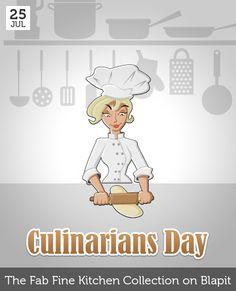 July 25 - Culinarians Day