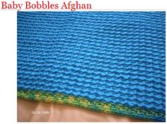 Project Linus-Patterns Baby Bobbles Afghan (on hard drive)