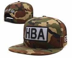 HBA Hood By Air Camo Snapback