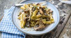 Donal Skehan: Fuzi  pasta with a creamy mushroom sauce
