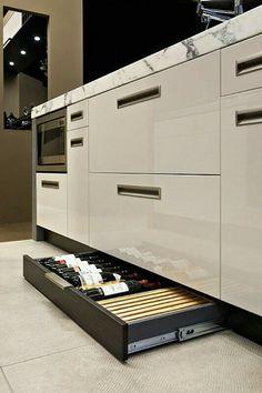 Uplifting Kitchen Remodeling Choosing Your New Kitchen Cabinets Ideas. Delightful Kitchen Remodeling Choosing Your New Kitchen Cabinets Ideas. Luxury Kitchen Design, Luxury Kitchens, Interior Design Kitchen, Cool Kitchens, Interior Modern, Bathroom Interior, Modern Interiors, Small Kitchens, Modern Luxury